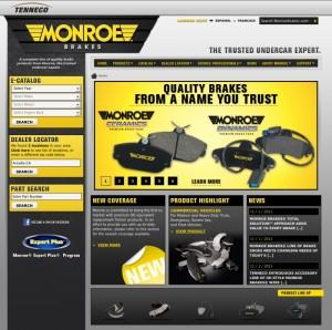 Monroe Brakes Home Page